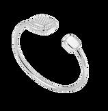 白色钻石 Pain de Sucre系列可替换宝石手环