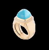 绿松石 Pain de Sucre系列可替换宝石戒指