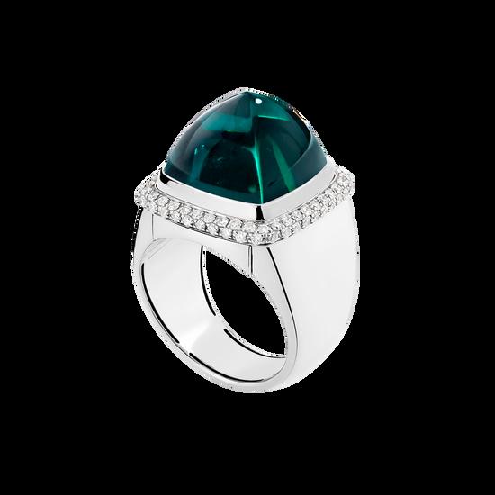 碧 Pain de Sucre系列可替换宝石戒指