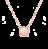 粉红石英 Pain de Sucre系列吊坠项链