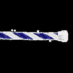 蓝色和白色Emblem链绳