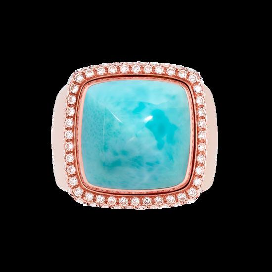 海纹石 Pain de Sucre系列可替换宝石戒指